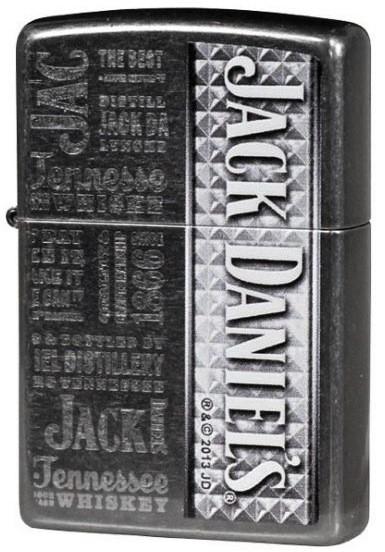 Zippo Jack Daniels, Whiskey Label tulemasin