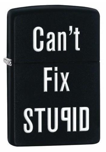 Can't Fix Stupid, mattmust klassikaline tulemasin
