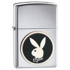 Playboy jänesepea embleemiga poleeritud kroom tulemasin