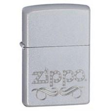 Zippo logoga satiin, kroomitud tulemasin