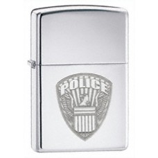 US Police, poleeritud kroom tulemasin