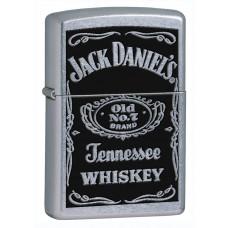Jack Daniel's logoga klassikaline poleeritud kroom tulemasin