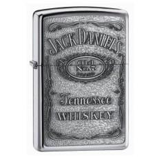 Jack Daniel's embleemiga klassikaline poleeritud kroom tulemasin