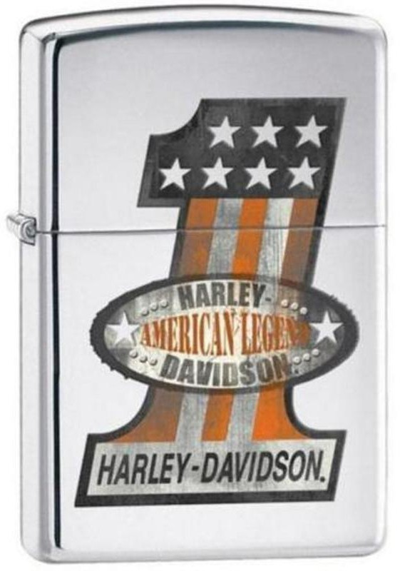 Harley Davidson #1, American Legend, poleeritud kroom tulemasin