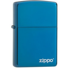 Safiirkarva Zippo logoga tulemasin